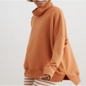 aerie Sunday Soft Oversize Turtleneck Sweatshirt